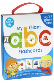 My Giant ABC flashcards (26 cards)