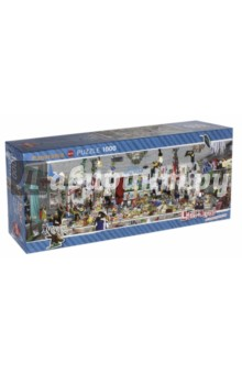 Puzzle-1000 Новогодняя вечеринка, панорама (29823)