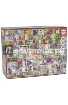 Пазл-1000 Мир банкнот (17659) educa пазл пекарня