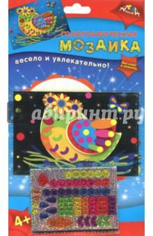 Голографическая мозаика Птичка (А6) (С2600-15) набор для детского творчества голографическая мозаика обезьянка с2600 09