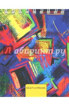 Скетчбук Яркий холст (80 листов, А6, евроспираль) (ТС6804499) тетрадь яркий орнамент 100 листов а6 спираль тсфл61004457