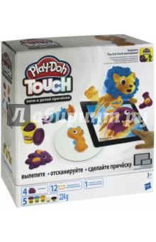 Набор Play-Doh. Лепи и делай причёски (B9018) наборы для лепки play doh игровой набор сумасшедшие прически