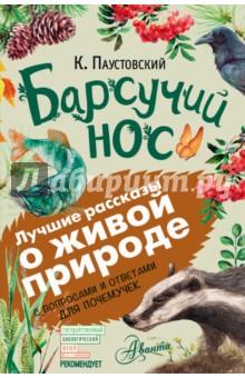 Барсучий нос художественные книги росмэн паустовский к барсучий нос рассказы и сказки