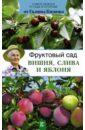 Фруктовый сад. Вишня, слива и яблоня, Кизима Галина Александровна