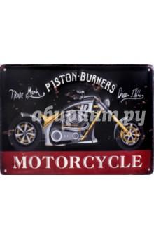 Табличка декоративная Motocycle (металлическая, 30х20 см)