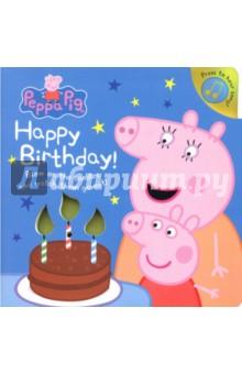 Купить Peppa Pig: Happy Birthday!, Ladybird, Первые книги малыша на английском языке