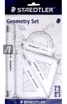 Набор для геометрии для левшей и правшей, 4 предмета (569PB4-0)