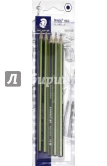 """Набор чернографитных карандашей """"Noris eco"""" (5 штук, 5 степеней твердости)  (18030-SBK5)"""