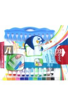 Маркеры для досок (12 цветов) (741845) набор цветных карандашей maped color peps 12 шт 683212 в тубусе подставке