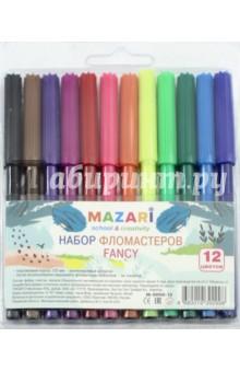 "Фломастеры ""FANCY"" (12 цветов) (М-5050-12)"
