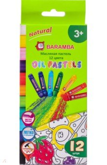 Пастель масляная 12 цветов Baramba (B17573)