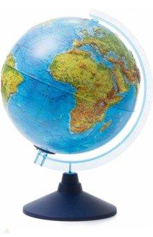 Глобус Земли физический d250 рельефный с подсветкой (Ве022500258)
