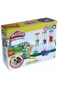 Набор PLAY-DOH Сделай и измерь HASBRO (B9016) hasbro play doh игровой набор из 8 баночек с 2 лет