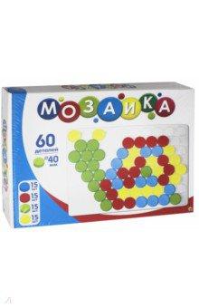 Мозаика (60 фишек, белое поле) (М-9584) рыжий кот мозаика 250 фишек