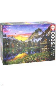 Купить Пазл-5000 Альпийское озеро (17678), Educa, Пазлы (2000 элементов и более)