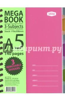 """Бизнес-тетрадь """"Spiral Book"""" (140 листов, клетка, А5, спираль) (84111) ()"""