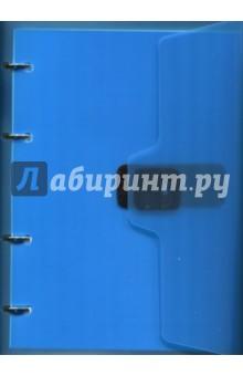 Тетрадь на кольцах (120 листов, клетка, А5, липучка) (84454)
