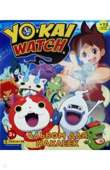 Альбом YO-KAI WATCH (+15 наклеек) детские наклейки монстер хай monster high альбом наклеек