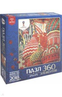 Пазл-360 Города. Красная Москва (03845) пазл оригами арт терапия кошка 360 элементов