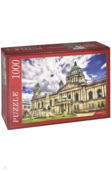 Puzzle-1000 РАТУША БЕЛФАСТА (КБ1000-6903) Рыжий Кот