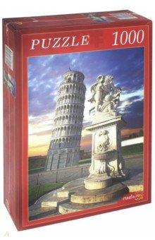 Puzzle-1000 ПИЗАНСКАЯ БАШНЯ НА ЗАКАТЕ(КБ1000-6915) puzzle 1000 каскад водопадов кб1000 6910