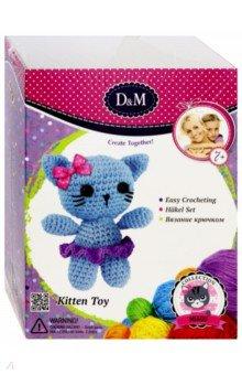 Купить Набор для вязания игрушки крючком Кошка Милашка (66800), D&M, Шитье, вязание
