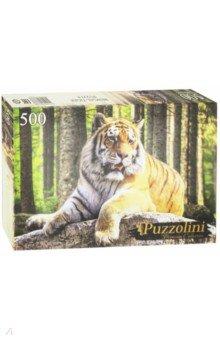 Puzzle-500 Бенгальский тигр (GIPZ500-7668) Puzzolini