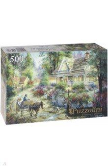 Puzzle-500 Лето в деревне (ALPZ500-7696) puzzle 500 яркие совы alpz500 7701