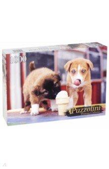 Puzzle-1000 Щенки и мороженное (GIPZ1000-7706) пазлы origami пазл дм зайчик и волчонок 25 элементов