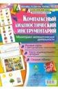 Обложка Комплексный диагностический инструментарий. Мониторинг математической деятельности детей 5-6 лет