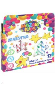 "Фломастеры-кисти ""Maestro"" (12 цветов) (M-5068-12)"