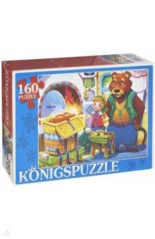 Puzzle-160 Маша и медведь (ПК160-6113) rosenberg 6113