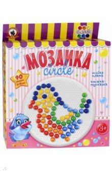 "Мозаика ""Classic Птичка"" 90 элеметнов,круглая плата (03920)"