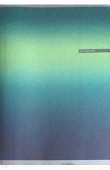 Тетрадь 80 листов, А4 Зеленый градиент (ТГ4804280)
