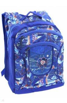 Купить Рюкзак BASIC PLUS. Джинса (NRk_25087), Хатбер, Рюкзаки школьные