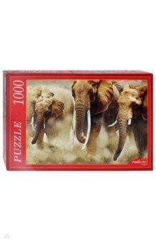 Puzzle-1000 Стадо слонов (КБ1000-6928) puzzle 1000 поле подсолнухов кб1000 6897