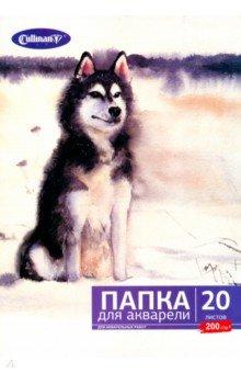 """Папка для акварели """"Собака"""" (20 листов, А4) (FK-4420)"""