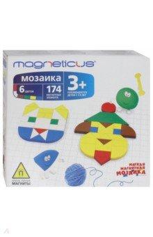 Мозаика 3+ (6 цветов, 174 элемента)