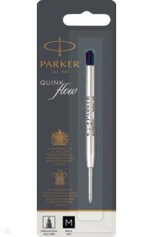 Сменный стержень для шариковой ручки QuinkFlow Z08 (M, 1 мм, черный) (1950369) parker стержень для ручки 5th mode цвет чернил зеленый