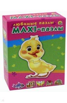 Купить MAXI-пазлы Любимые пазлы (ПМ-9574), Рыжий Кот, Пазлы (12-50 элементов)