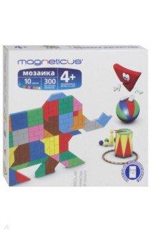 Мягкая магнитная мозаика Слон (300 элементов, 10 цветов) (MM-010) magneticus мягкая магнитная мозаика 174 элемента