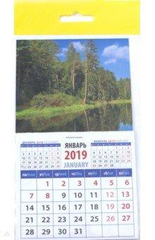 """Календарь 2019 """"Очарование природы"""" (20911)"""