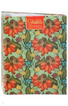 Тетрадь на кольцах 120 листов Паттерн. Цветы (С1055-17) тетрадь блочная 120 листов stila nature деревья а5 105640