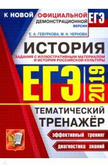 ЕГЭ 2019. История России. Задания с иллюстративным материалом