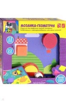 Мозаика для малышей Геометрия (12 картинок) (ВВ2869), ISBN 4895136029355, BONDIBON , 489-5-1360-2935-5, 489-5-136-02935-5, 489-5-13-602935-5 - купить со скидкой