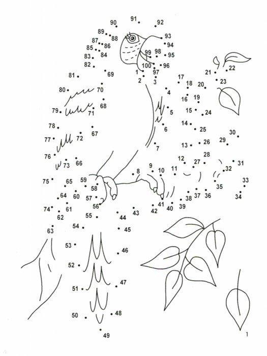Иллюстрация 1 из 3 для Учимся считать до 100: от точки к точке   Лабиринт - книги. Источник: Лабиринт