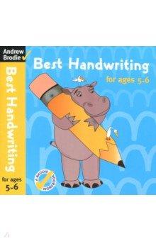 Купить Best Handwriting for Ages 5-6, A & C Black, Книги для детского досуга на английском языке