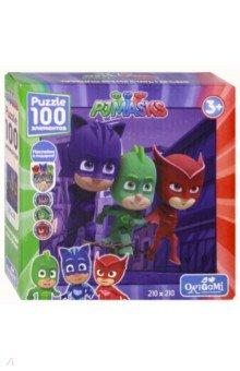 Купить Герои в масках. Пазл-100 Ловкие герои + наклейки (04049), Оригами, Пазлы (100-170 элементов)