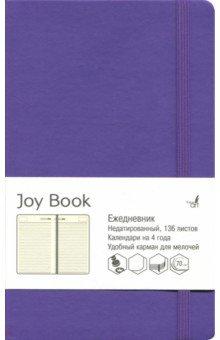 """Ежедневник недатированный """"Joy Book"""" (А5, 136 листов, фиолетовый) (ЕКДБ51913603)"""