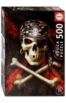 Купить Пазл-500 Пиратский череп (17964), Educa, Пазлы (400-600 элементов)